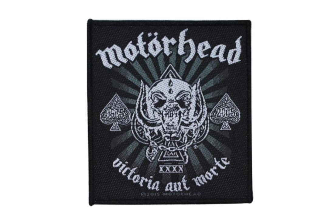 Official Band Merch | Motorhead - Victoria Aut Morte Woven Patch
