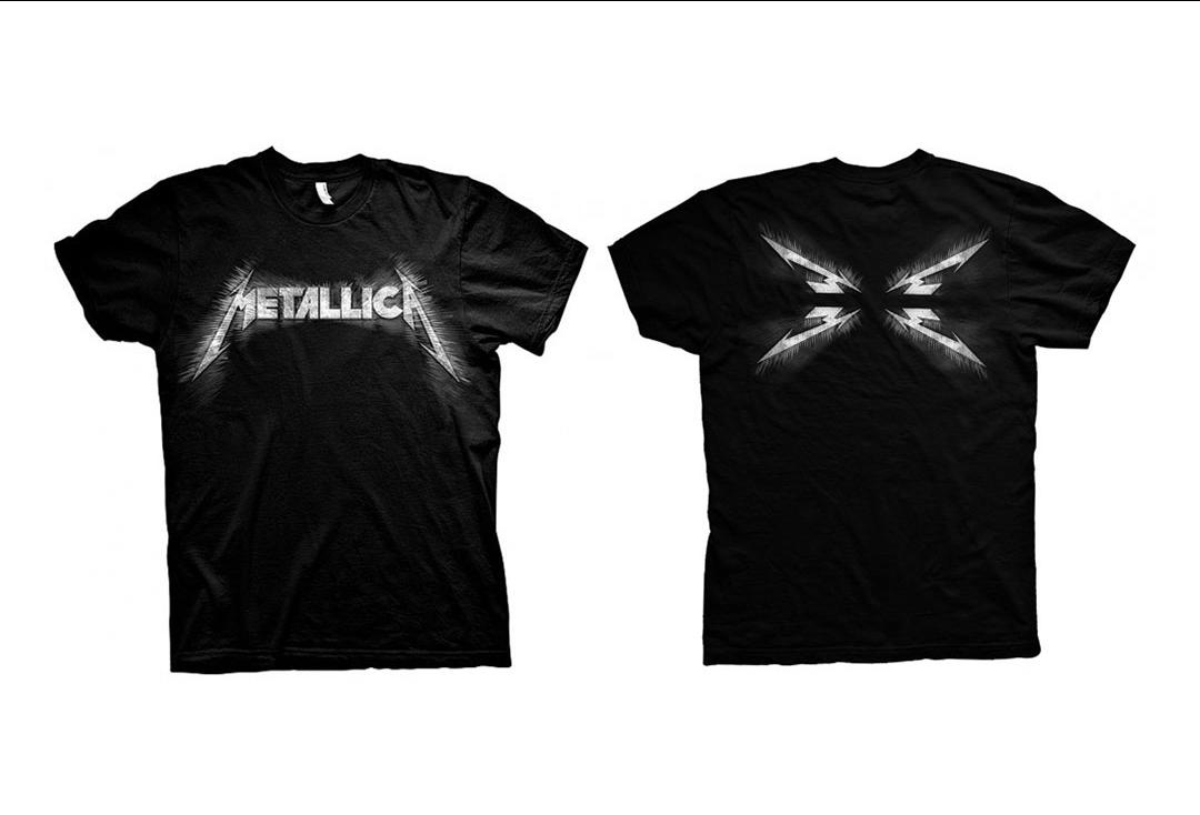 Metallica - Spiked Logo Men's Short Sleeve T-Shirt