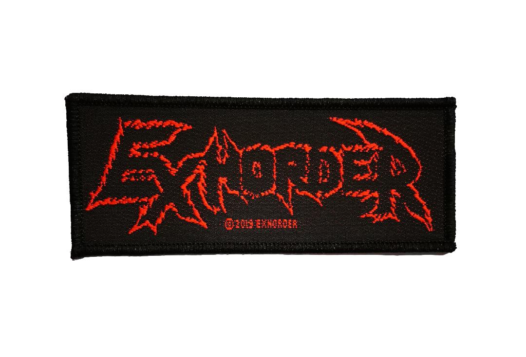 Official Band Merch | Exhorder - Logo Woven Patch