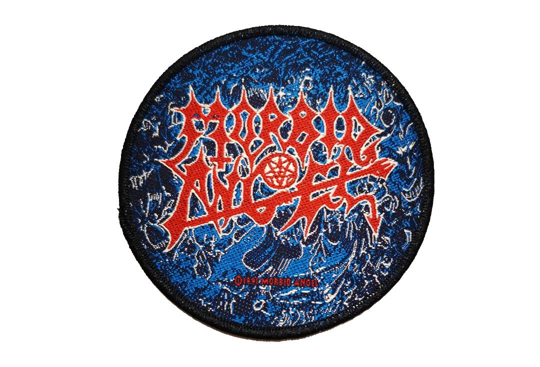 Official Band Merch | Morbid Angel - Altars Of Madness Woven Patch