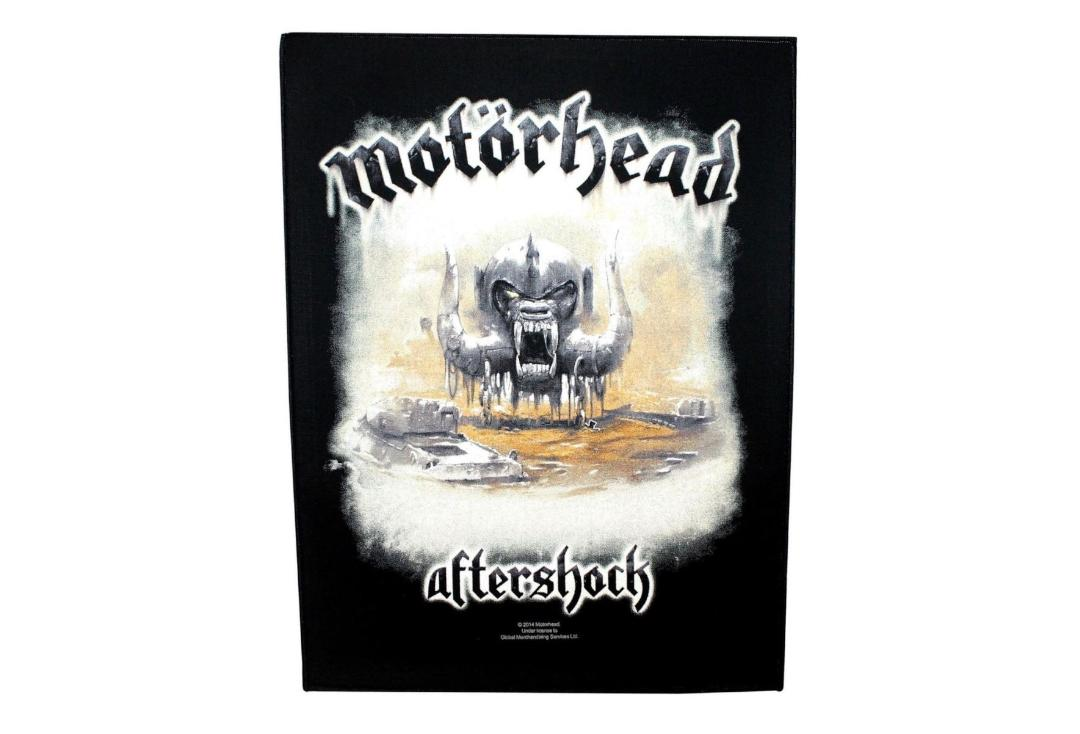 Official Band Merch | Motorhead - Aftershock Printed Back Patch