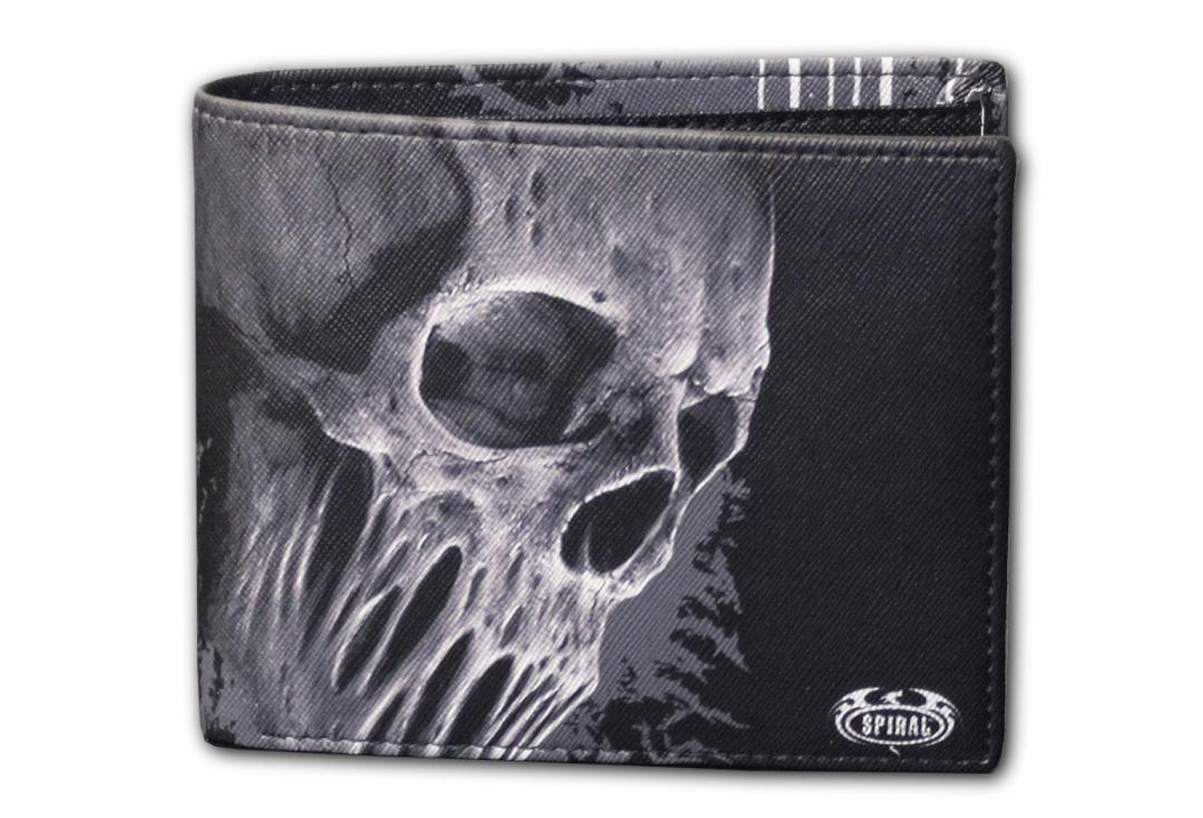 Spiral Direct | Bat Curse Bi-Fold RFID Blocking Wallet - Front