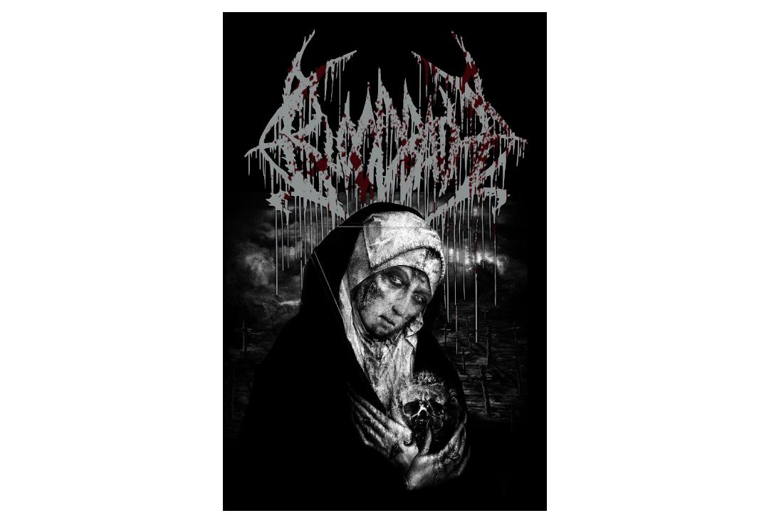 Official Band Merch | Bloodbath - Grand Morbid Funeral Printed Textile Poster