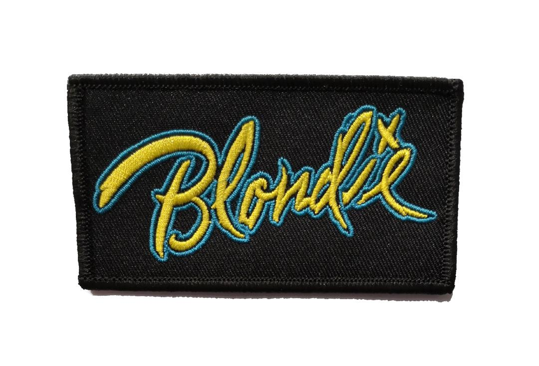 Official Band Merch | Blondie - Eat To The Beat Logo Woven Patch