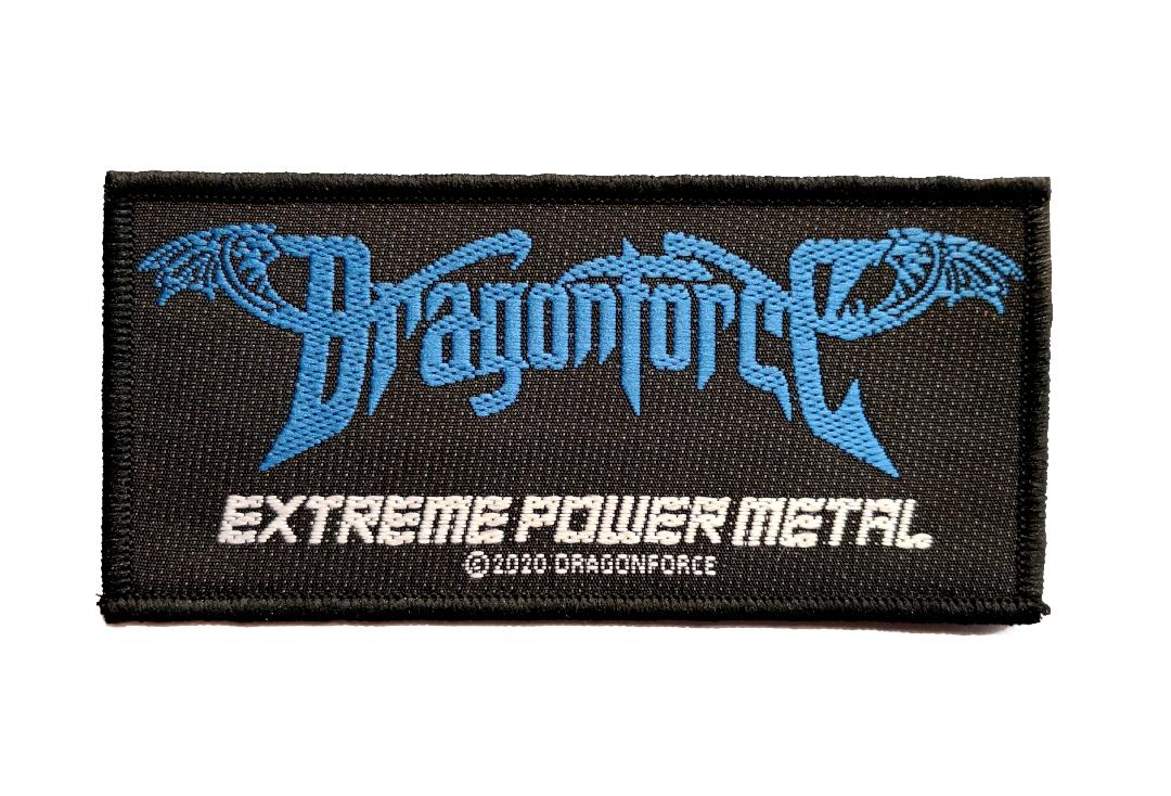 Official Band Merch | Dragonforce - Extreme Power Metal Woven Patch