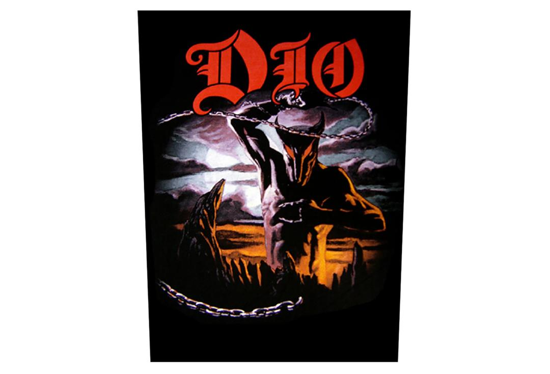 Official Band Merch | Dio - Holy Diver Printed Back Patch