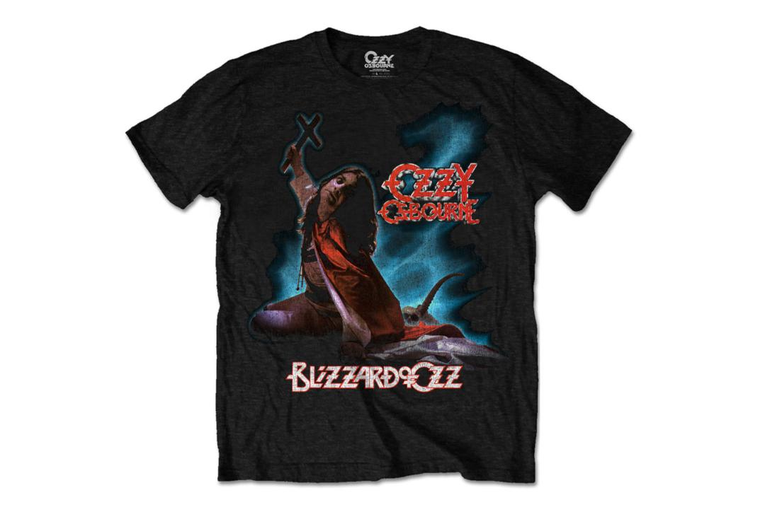 Official Band Merch | Ozzy Osbourne - Blizzard Of Ozz Men's Short Sleeve T-Shirt