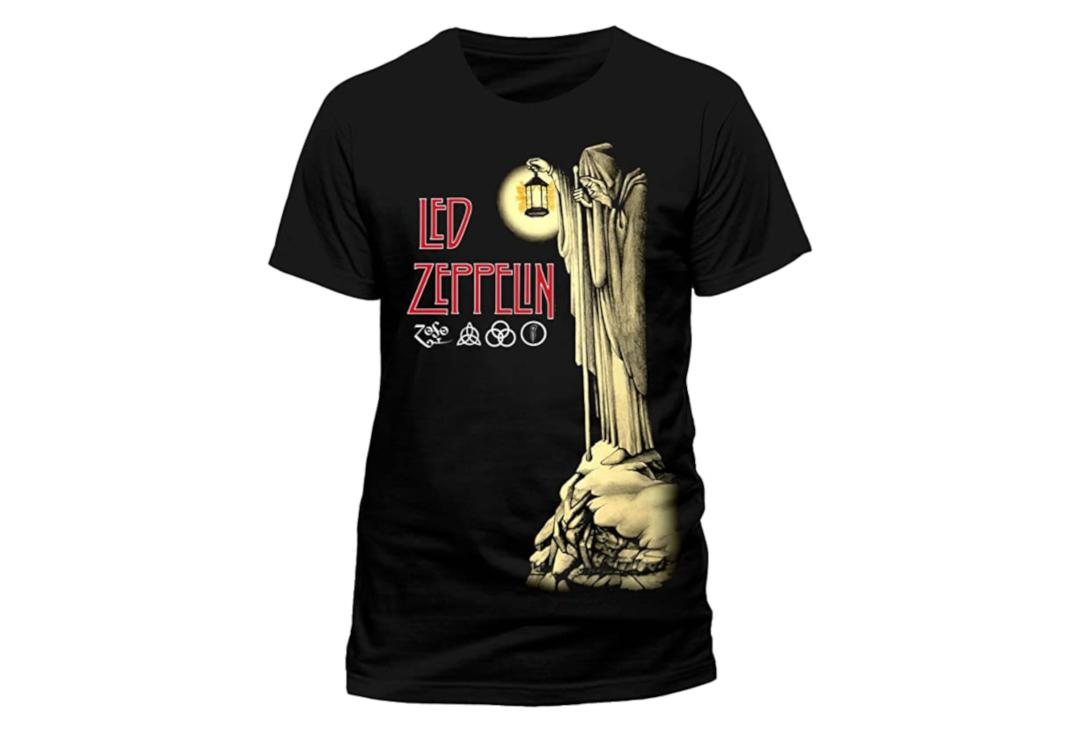 Official Band Merch | Led Zeppelin - Hermit Men's Short Sleeve T-Shirt