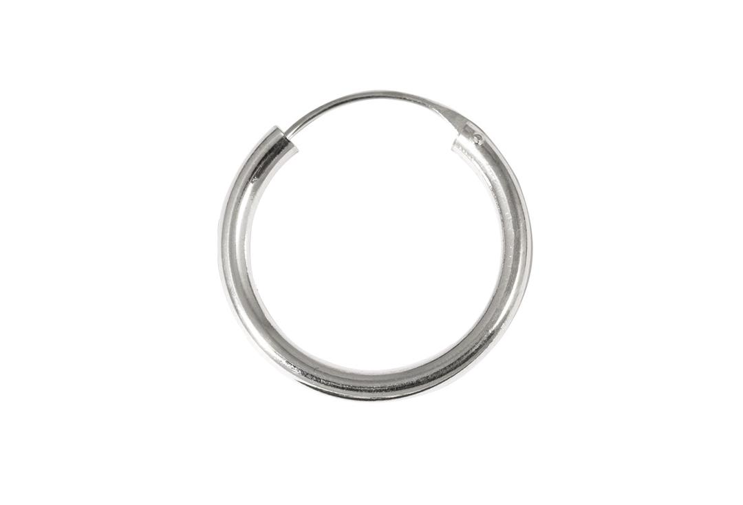 Body Jewellery | Sterling Silver Hinged Hoop Thicker Gauge