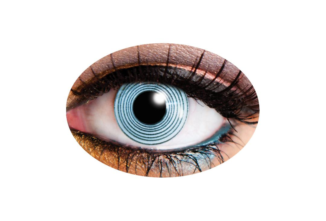 Innovision Lenses | Black Spiral 90 Day Contact Lenses