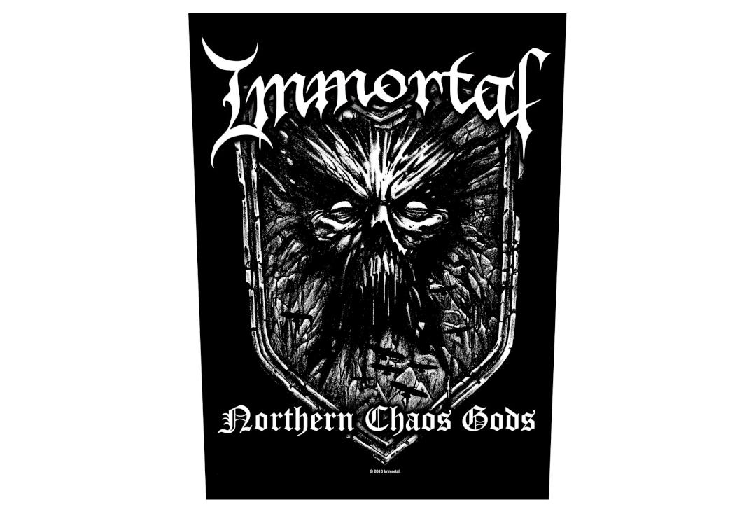 Official Band Merch | Immortal - Northern Chaos Gods Printed Back Patch