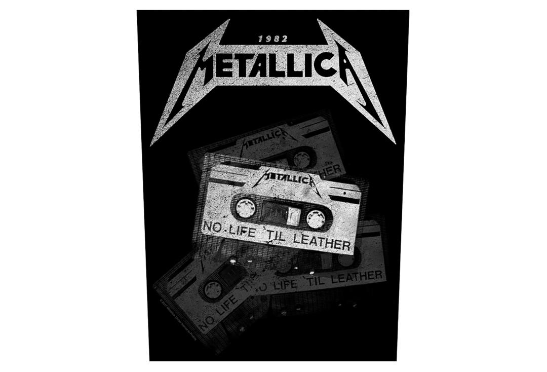 Official Band Merch | Metallica - No Life 'Til Leather Printed Back Patch