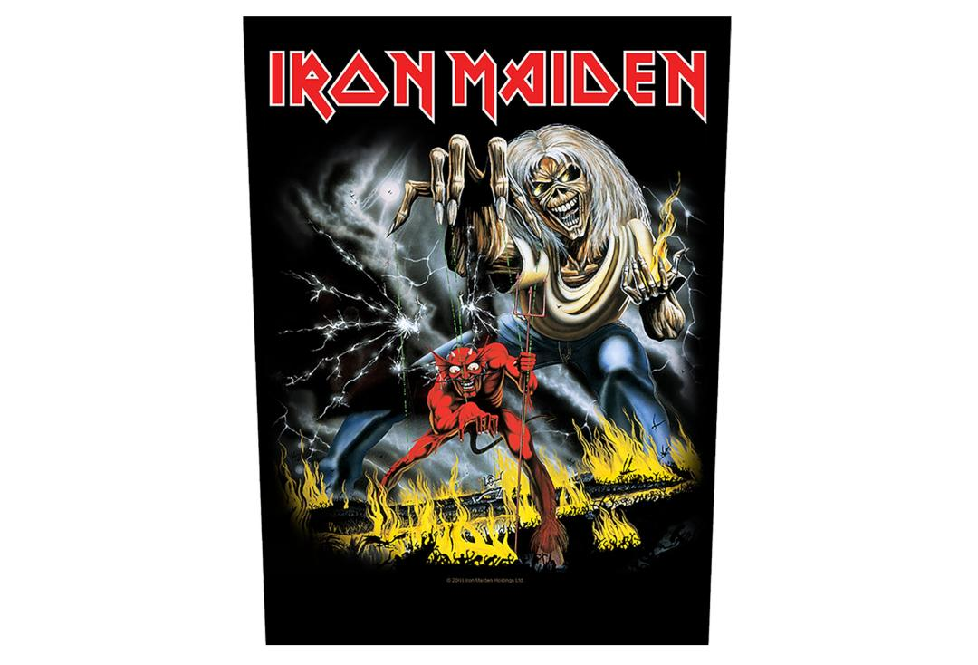 Official Band Merch | Iron Maiden - Number Of The Beast Printed Back Patch