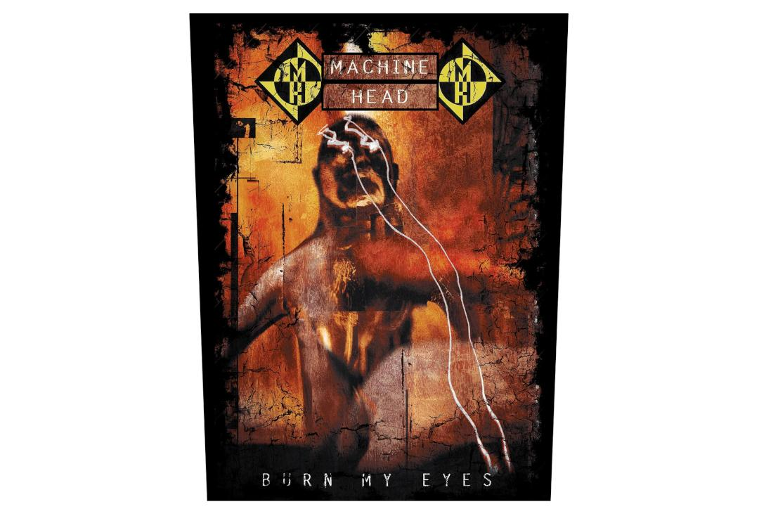 Official Band Merch | Machine Head - Burn My Eyes Printed Back Patch
