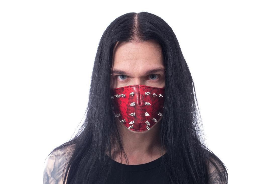 Poizen Industries | Red Etzel Spike Face Mask