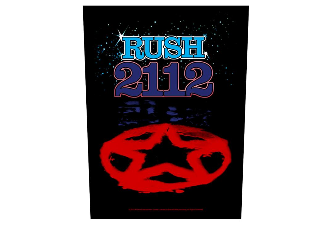 Official Band Merch | Rush - 2112 Printed Back Patch