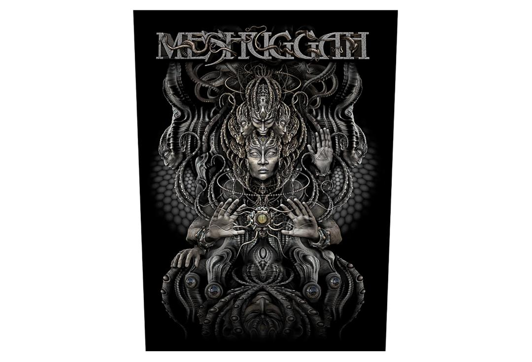 Official Band Merch | Meshuggah - Musical Deviance Printed Back Patch
