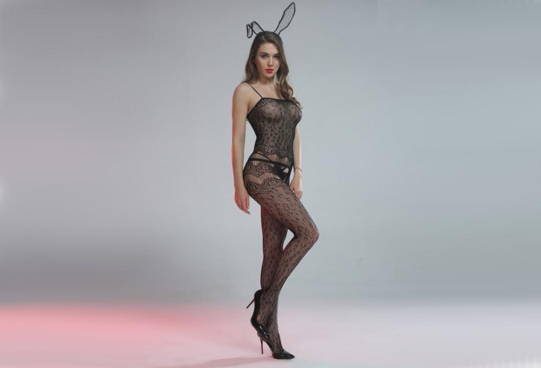 Cindylove | The Olivia Body Stocking - Front