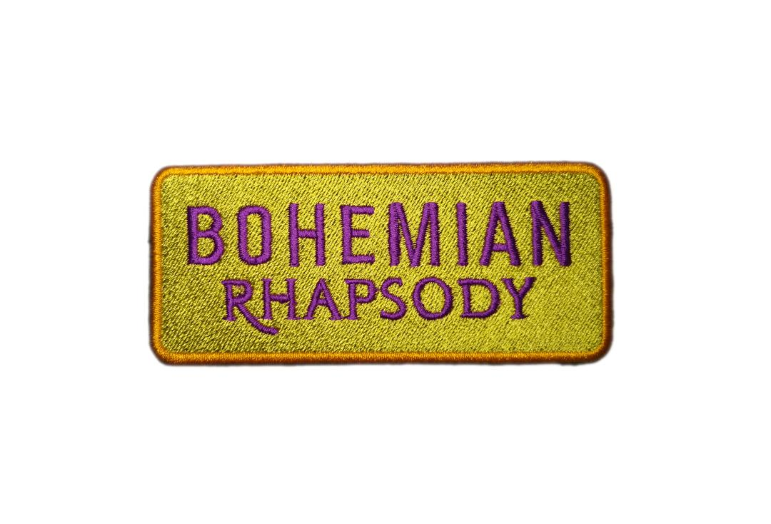 Official Band Merch | Queen - Bohemian Rhapsody Woven Patch