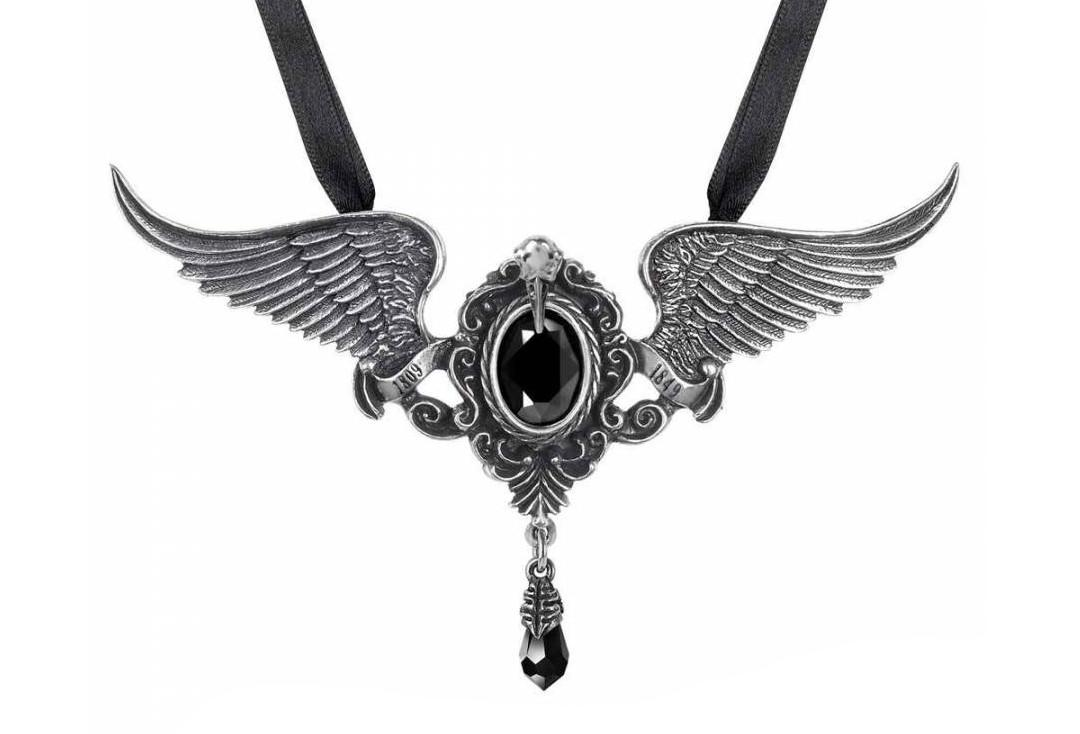 Alchemy Gothic | My Soul From The Shadow Choker - Close