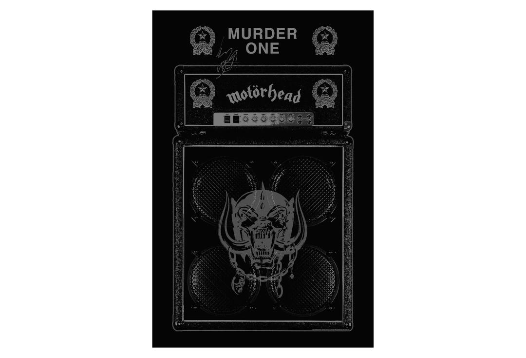 Official Band Merch | Motorhead - Murder One Printed Textile Poster