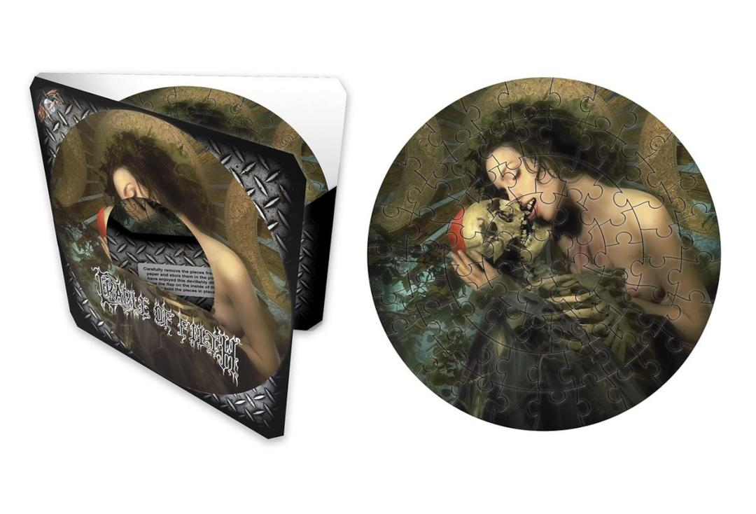 Official Band Merch | Cradle Of Filth - Abstinence Official Jigsaw