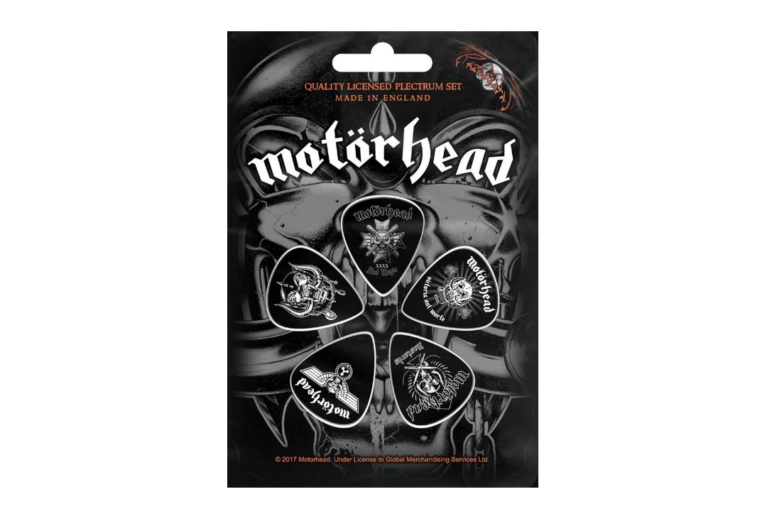 Official Band Merch | Motorhead - Bad Magic Official Plectrum Pack