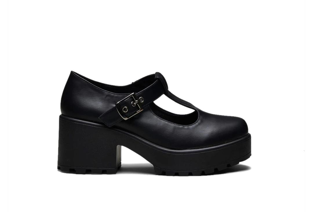 Koi Footwear | Sai Black Mary Jane Shoes - Main