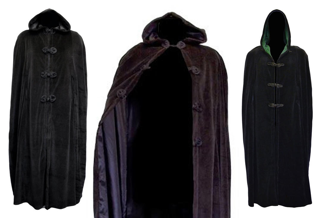 Dark Star By Jordash | Full Length Cotton Velour Hood Cape DS/JK/9694