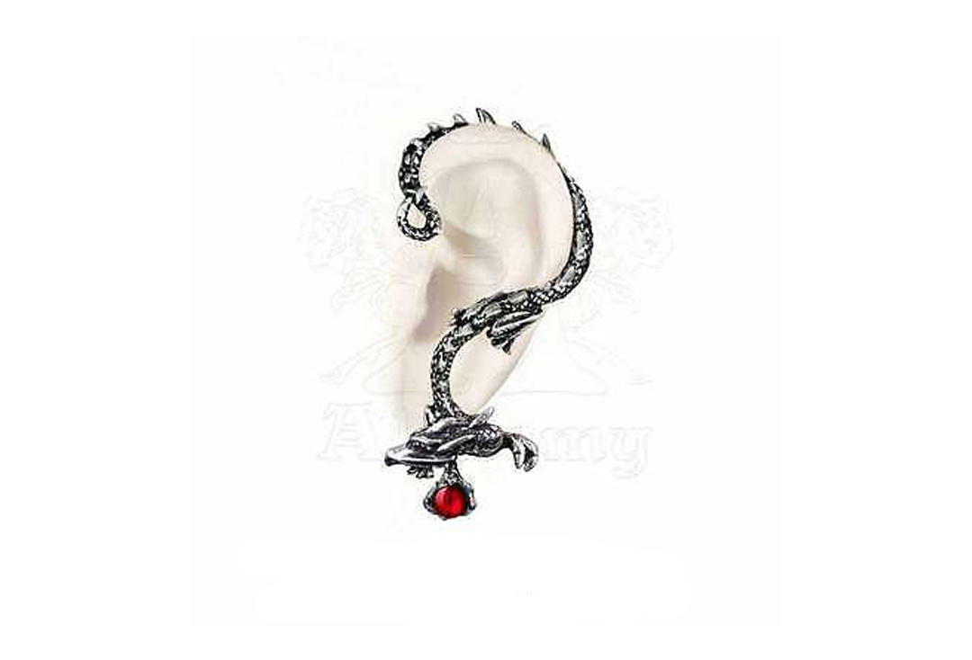 Alchemy Gothic | Oriental Dragon Ear Wrap