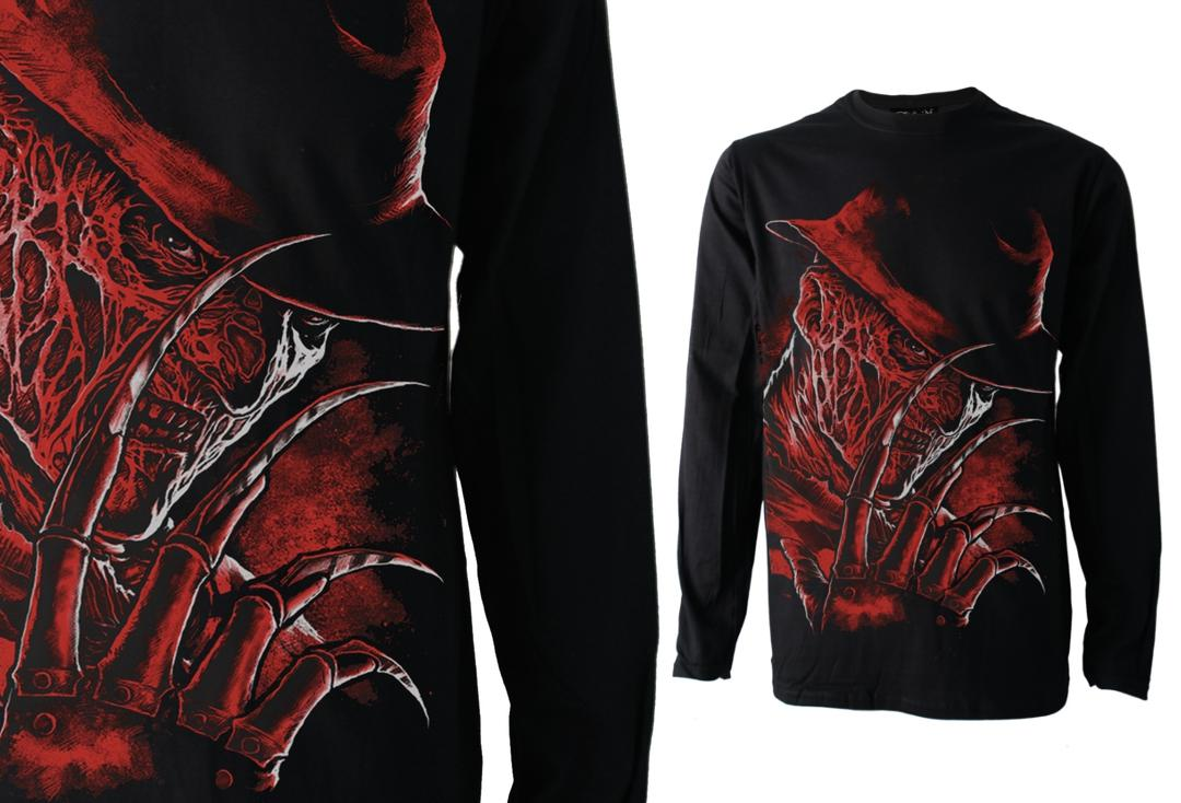 Darkside | Freddy Long Sleeve Men's Tee - Front
