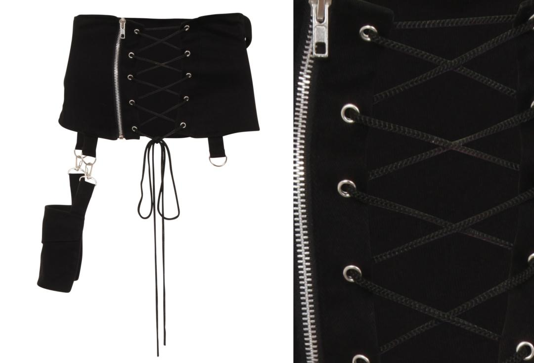 Necessary Evil | Hel Pocket Multi Belt Cincher - Back