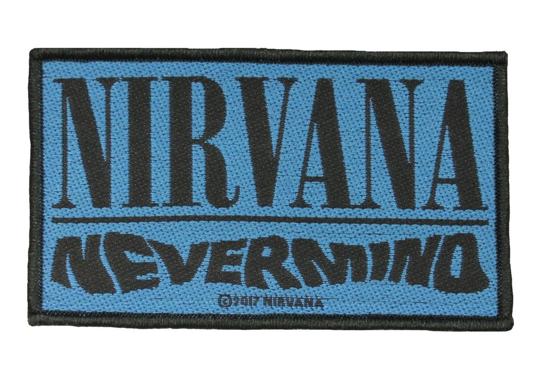 Official Band Merch | Nirvana - Nevermind Woven Patch