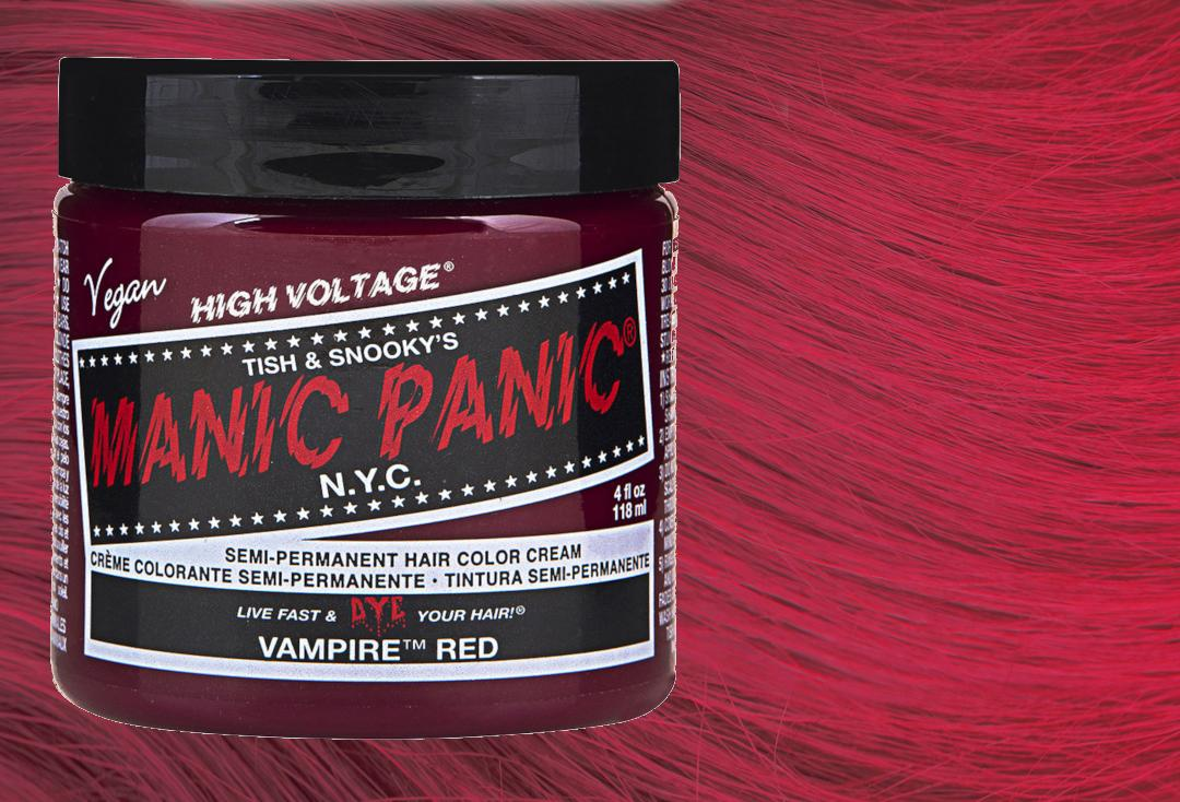 Manic Panic | Vampire Red High Voltage Classic Cream Hair Colour