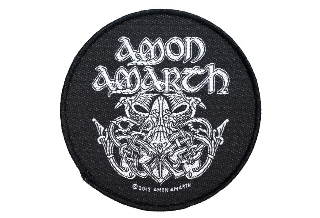 Official Band Merch | Amon Amarth - Odin Woven Patch