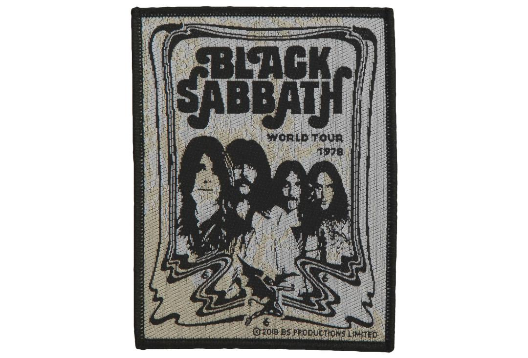 Official Band Merch | Black Sabbath - Band Woven Patch