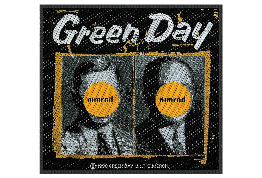 Official Band Merch | Green Day - Nimrod Woven Patch