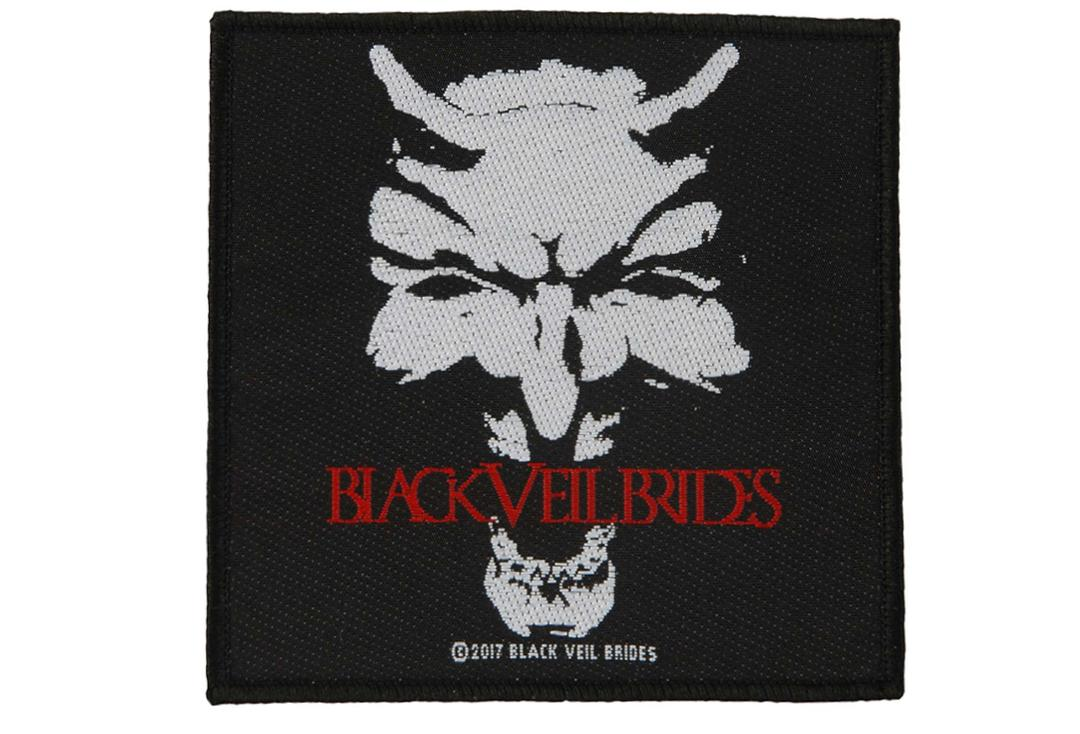 Official Band Merch | Black Veil Brides - Devil Woven Patch