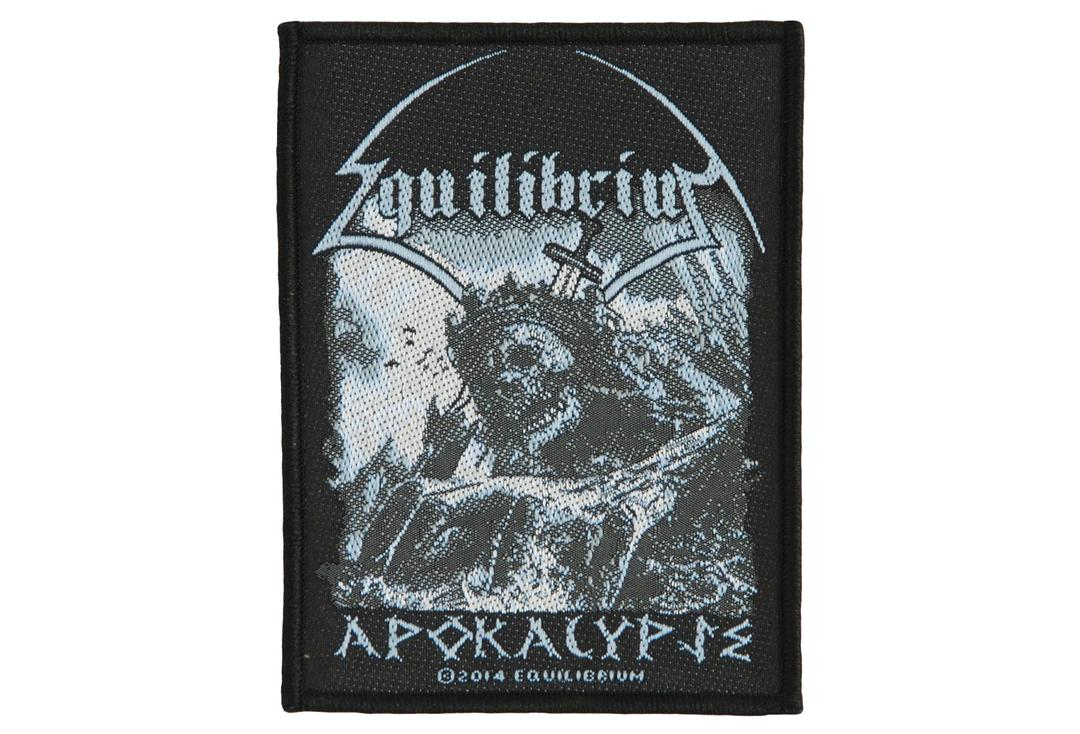 Official Band Merch | Equilibrium - Apokalypse Woven Patch