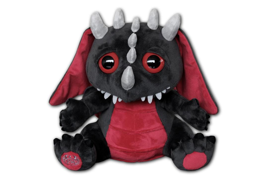 Spiral | Dragon Baby Plush Toy - Front View