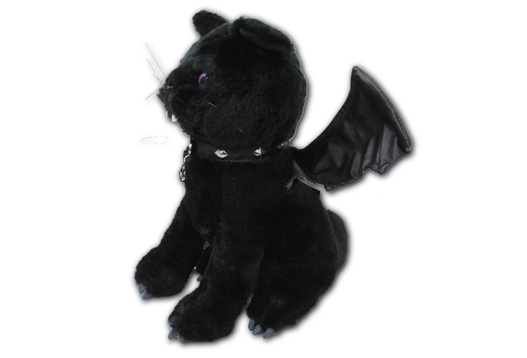 Spiral | Bat Cat Plush Toy - Side View