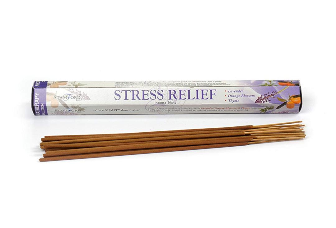 Stamford | Stress Relief Aromatherapy Collection Hex Incense Sticks