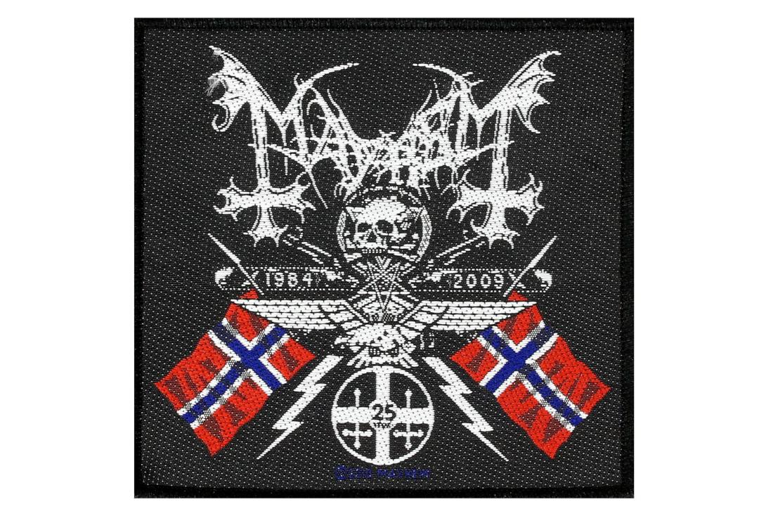 Official Band Merch | Mayhem - Coat Of Arms Woven Patch