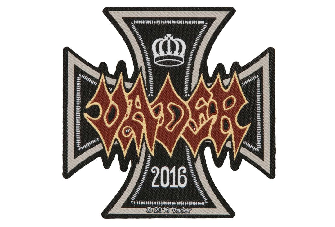 Official Band Merch | Vader - Iron Times Woven Patch