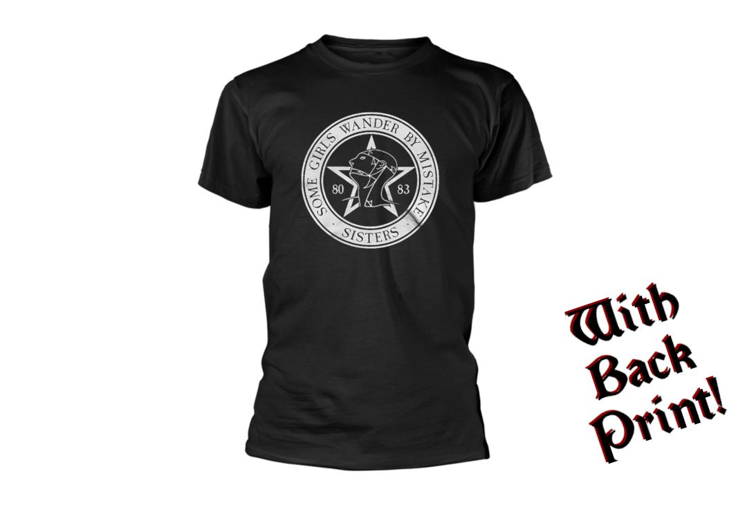 Official Band Merch | The Sisters Of Mercy - Some Girls Wander Men's Short Sleeve T-Shirt - Front View