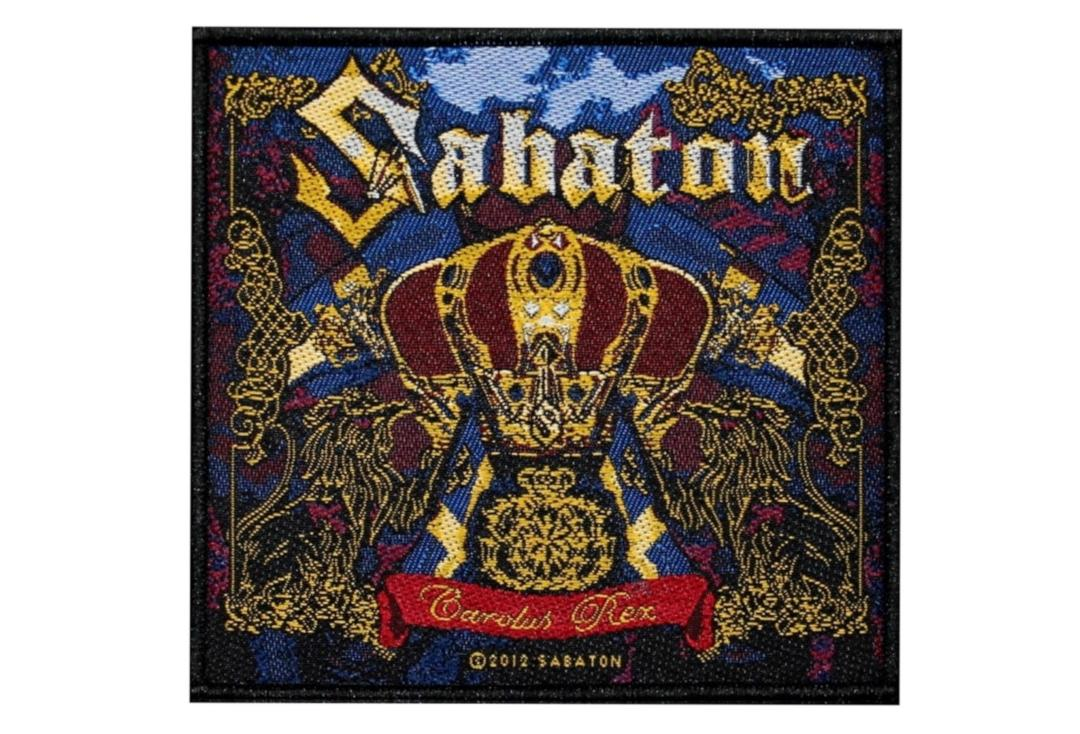 Official Band Merch | Sabaton - Carolus Rex Woven Patch
