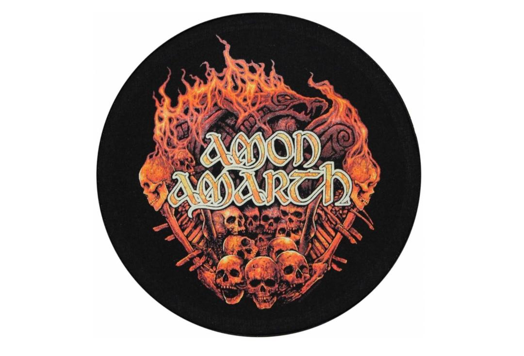 Official Band Merch | Amon Amarth - Battlefield Printed Back Patch