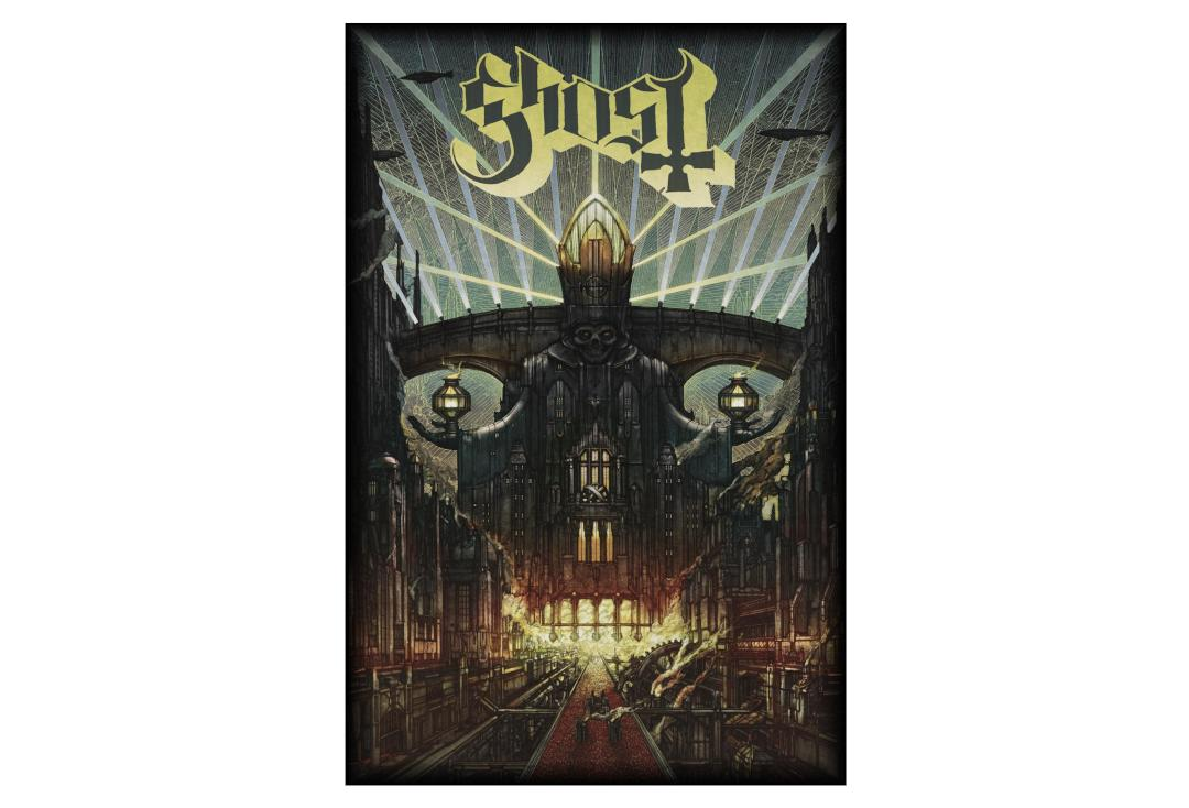 Official Band Merch | Ghost - Melliora Printed Textile Poster