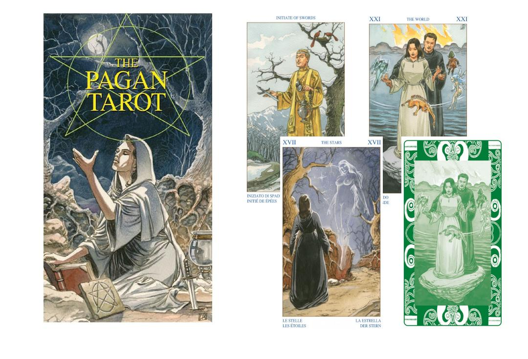 Lo Scarabeo | The Pagan Tarot Cards