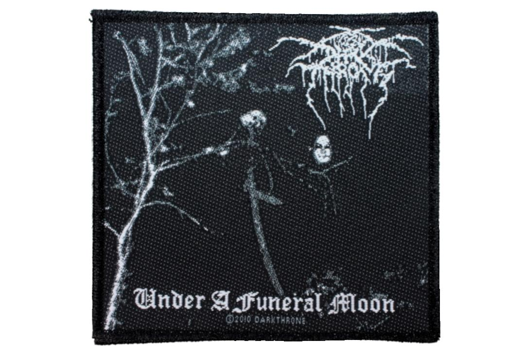 Official Band Merch | Darkthrone - Under A Funeral Moon Woven Patch